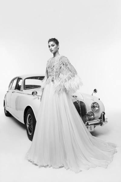 В стиле ретро — свадебная коллекция 2019 от Zuhair Murad