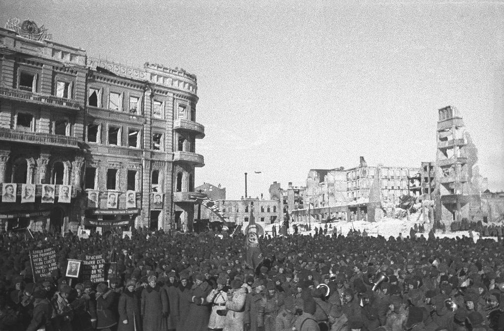 Сталинградская битва. Часть 3