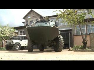 Переделка военного БРДМ-2 в гражданский вездеход