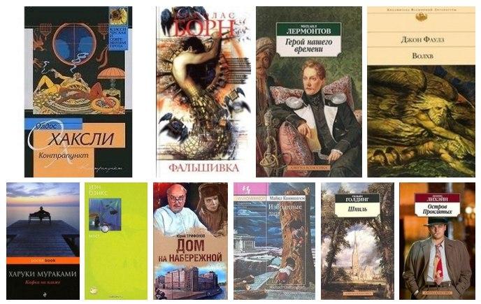 10 лучших психологических романов мира