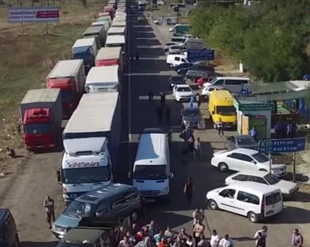 На границе с Крымом готовится великая харч-провокация