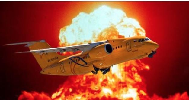 Очевидцы: взрыв Ан-148 был как ядерный