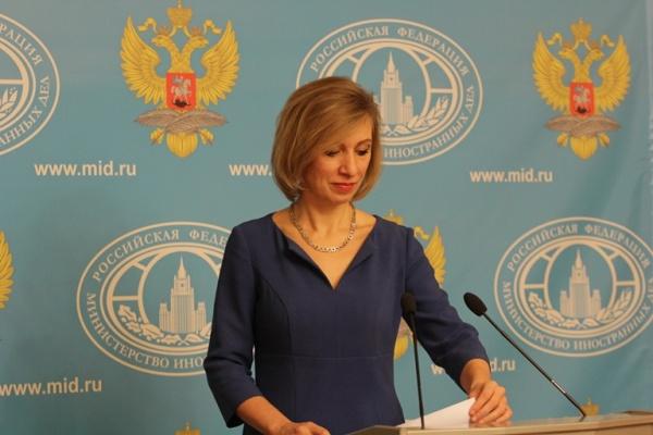 Захарова: Тбилиси признал— …