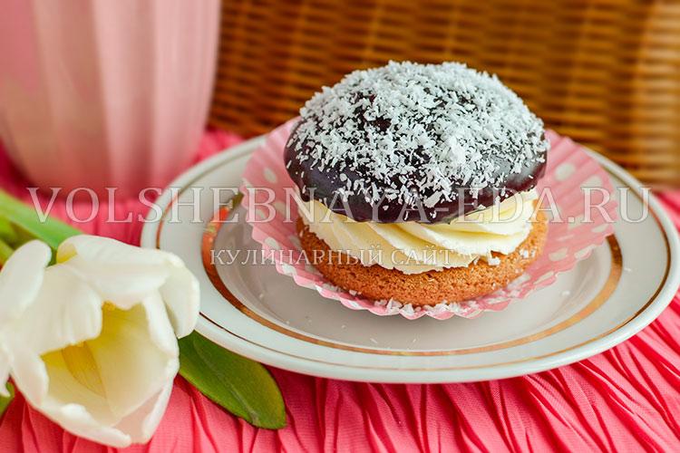 Рецепт пирожных буше
