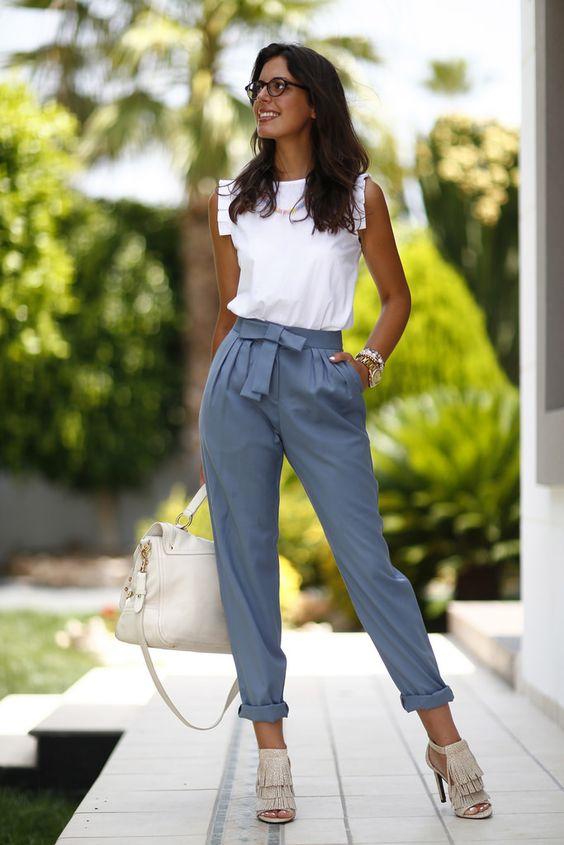 «Пижамные» брюки — самая удобная и модная одежда на теплое время года