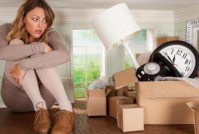 Если мусор в доме, то будет мусор и в жизни