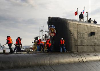 """Балтийский флот получит подводного """"Леопарда"""" с ракетами """"Калибр"""""""