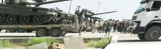 В Сирию поставлены дополнительные танки Т-62М из России