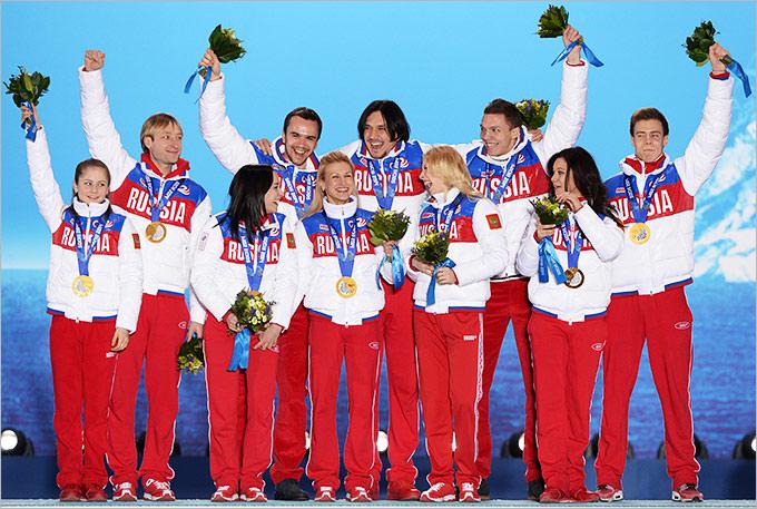 По поводу российских олимпийцев...