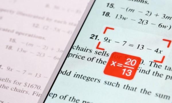 PhotoMath поможет стать отличником по математике каждому ученику