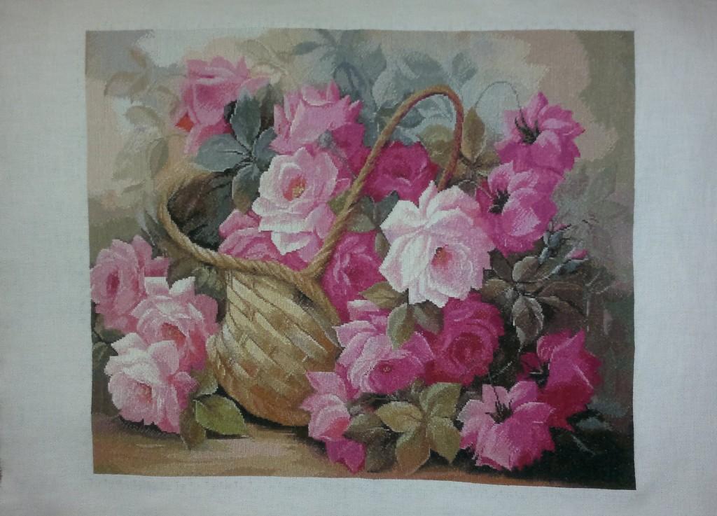 Вышивка розовое чудо купить