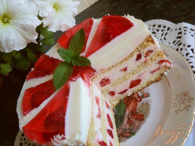 Вкуснейший торт *Красное и белое*.