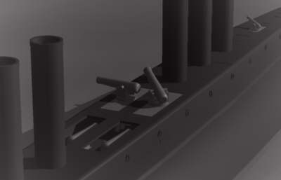 """Прототип """"Наутилуса"""" , или """"сигар-шип"""" от Уайненс-ов. (Фото 32)"""