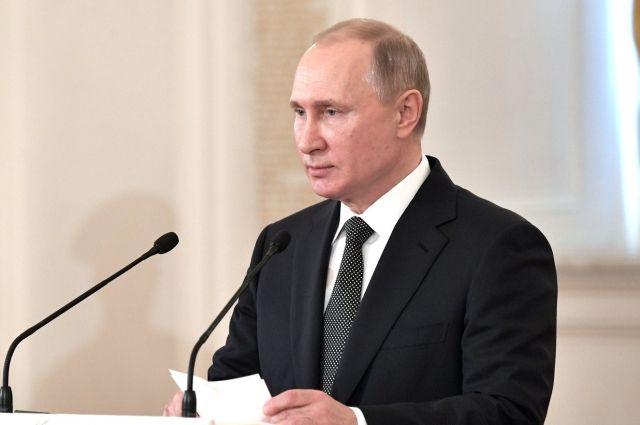 Путин в среду вручит госнаграды российским олимпийцам