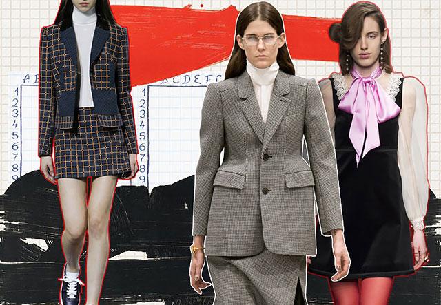 Синдром отличницы: что подсмотреть у школьниц для офисного гардероба