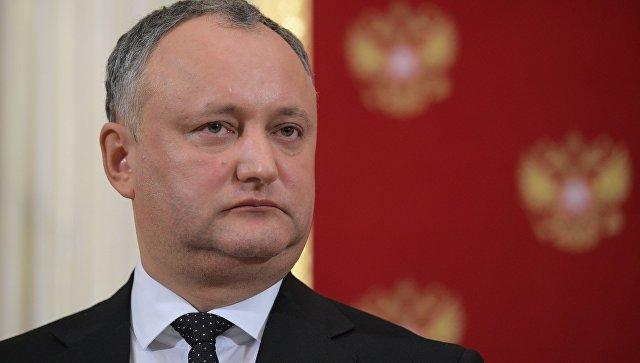 Президент Молдавии выступил против иностранных военных на территории страны