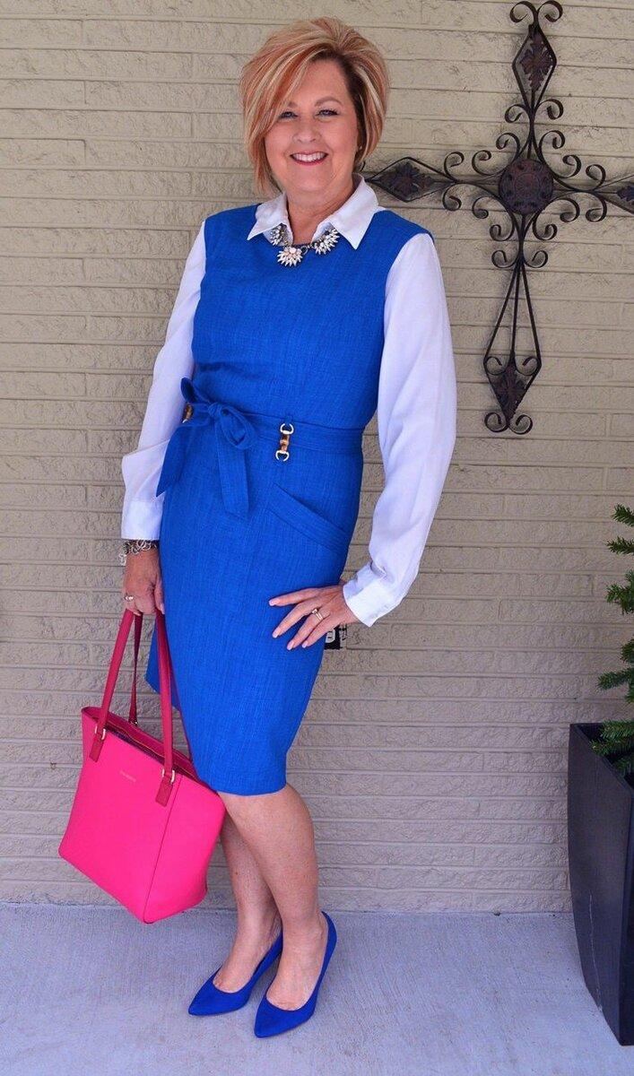 Женщина за 50 лет знает, как выглядеть эффектно! /Фото: i.pinimg.com