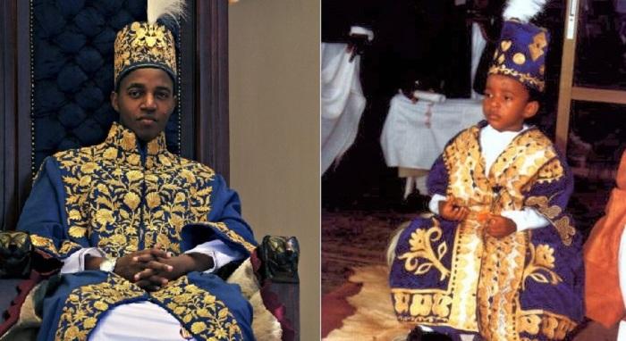 Король Уганды Ойо. | Фото: 24hoursgh.com.