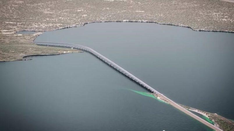В Сети появились свежие фотографии строительства Керченского моста