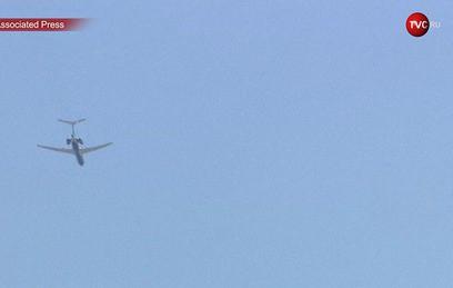 Самолет ВКС России пролетел над Белым домом и Пентагоном. Видео