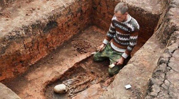 Неужели найден скелет пришельца?