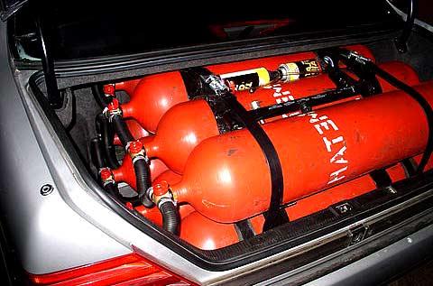 Авто на газ своими руками