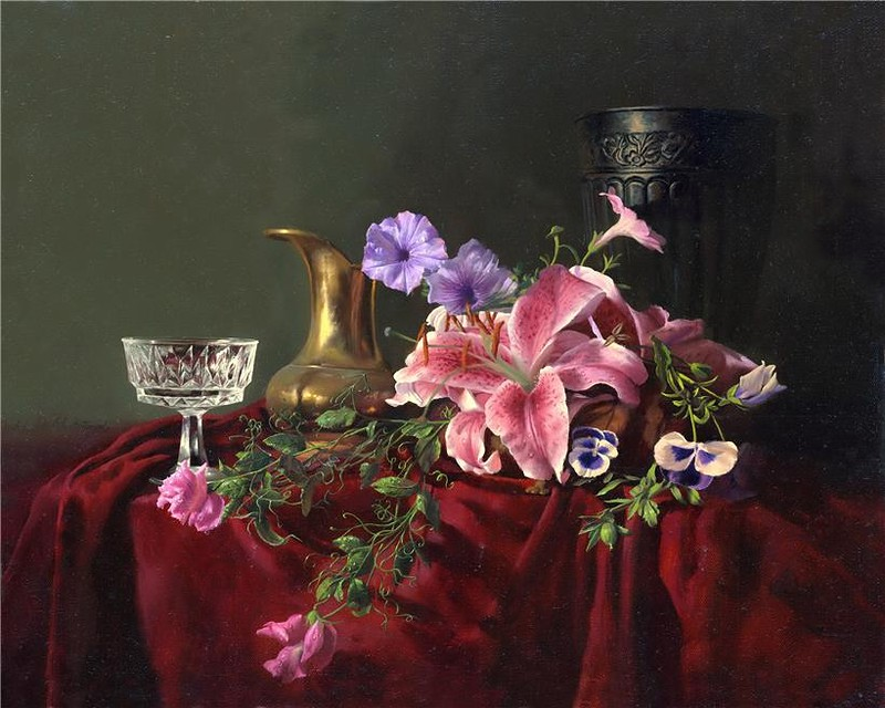Натюрморты Алексея Антонова (84 фото)