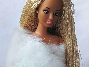 Меняем кукле барби волосы | Ярмарка Мастеров - ручная работа, handmade
