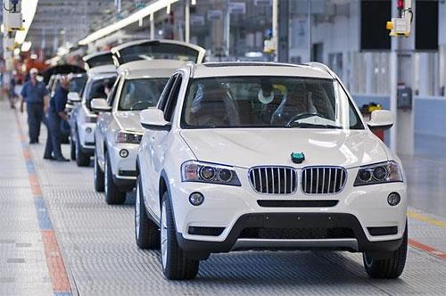 BMW наладит выпуск нового семиместного X7 на заводе в США
