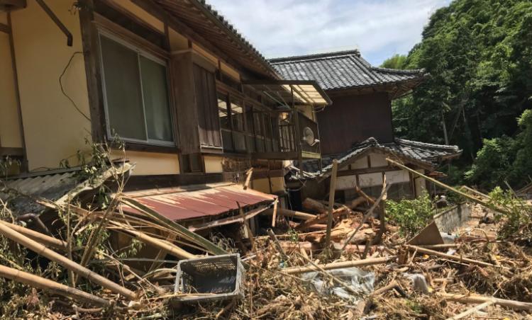 На севере Японии взорвалось …