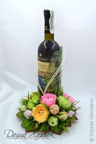 Свит-дизайн. Розы из гофрированной бумаги (14) (320x480, 96Kb)