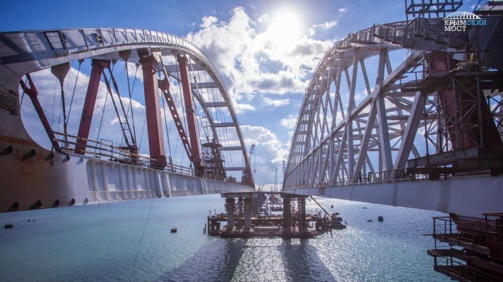 Мост в Крым. Видео
