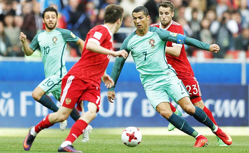 Он-лайн: Россия-Португалия - 0:1