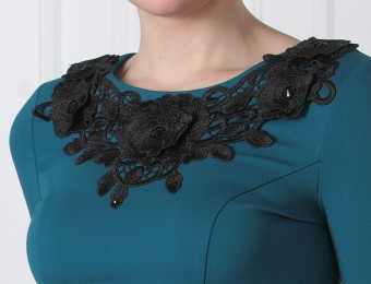 Разнообразие платьев ниже колена и особенности выбора оптимального варианта