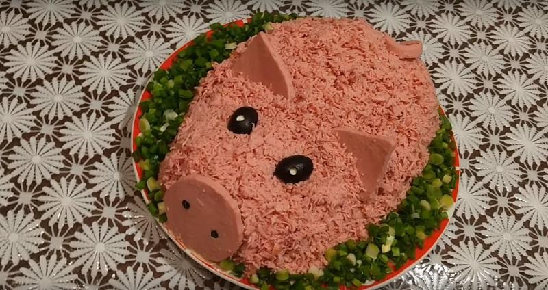 Подборка салатов для новогоднего стола