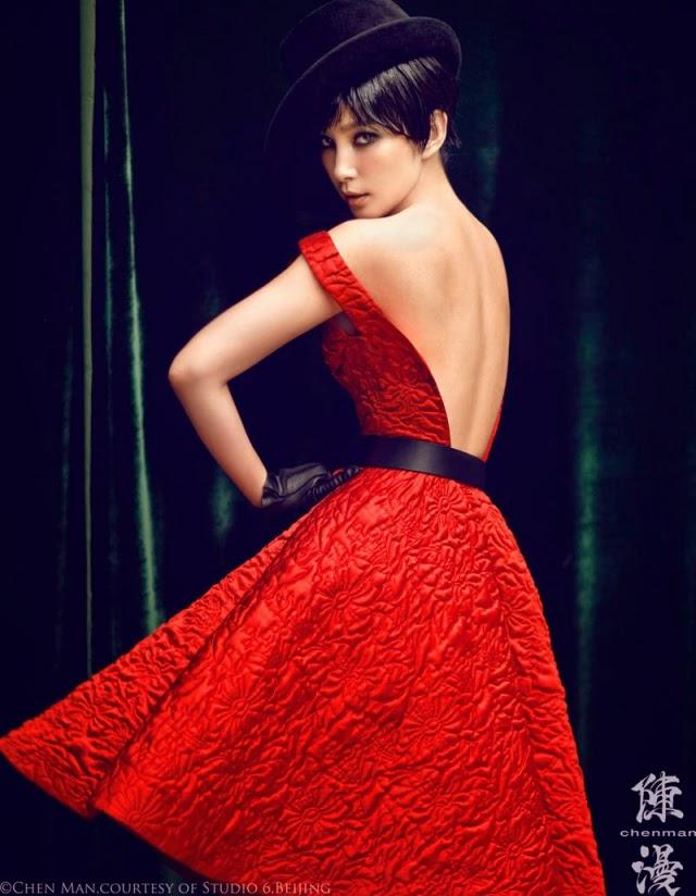 Яркие и эффектные фотографии моды от Чен Mэн