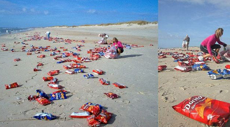 Удивительные находки, обнаруженные на пляжах