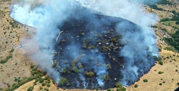 Армения попросила МЧС России помочь при тушении пожара взаповеднике