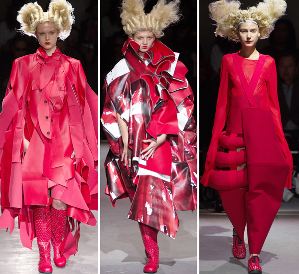 Самые экстравагантные дефиле Paris Fashion Week: Comme des Garcons, Junya Watanabe и Jean Paul Gaultier