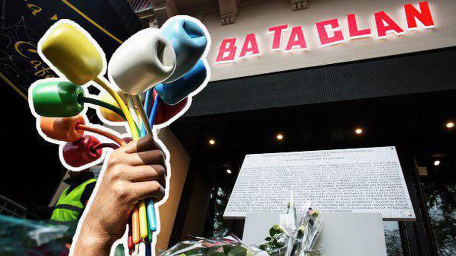 Во Франции не оценили «букет измаршмеллоу» в память о жертвах теракта