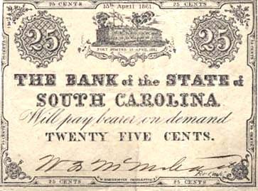 25 центов из Южной Каролины
