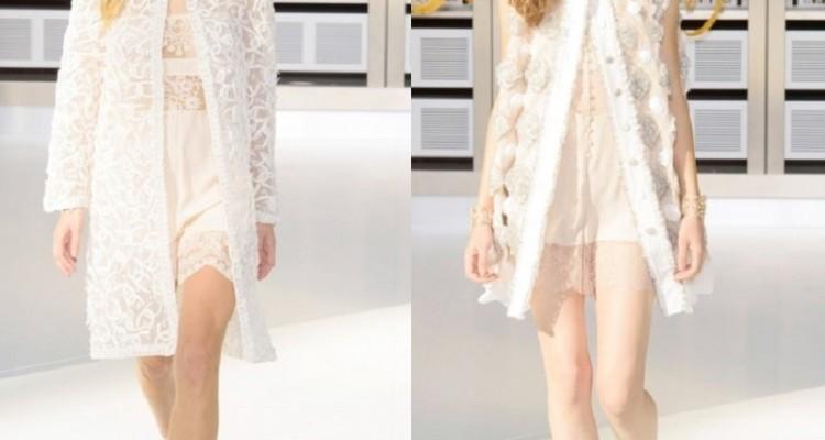 Женская коллекция Шанель (Chanel) на весну—лето 2017 года