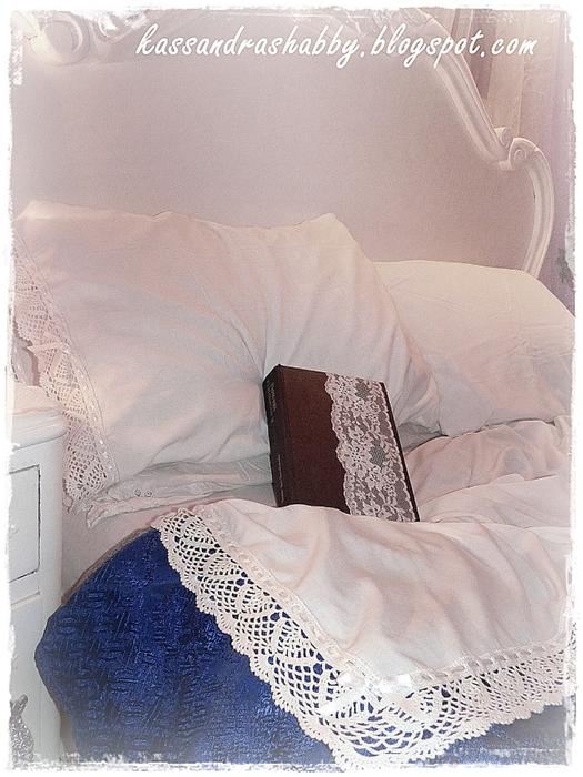Подушка и обвязка края