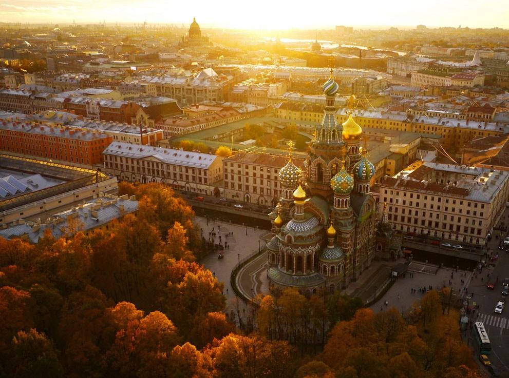 SPBFromAbove05 Санкт Петербург вид сверху