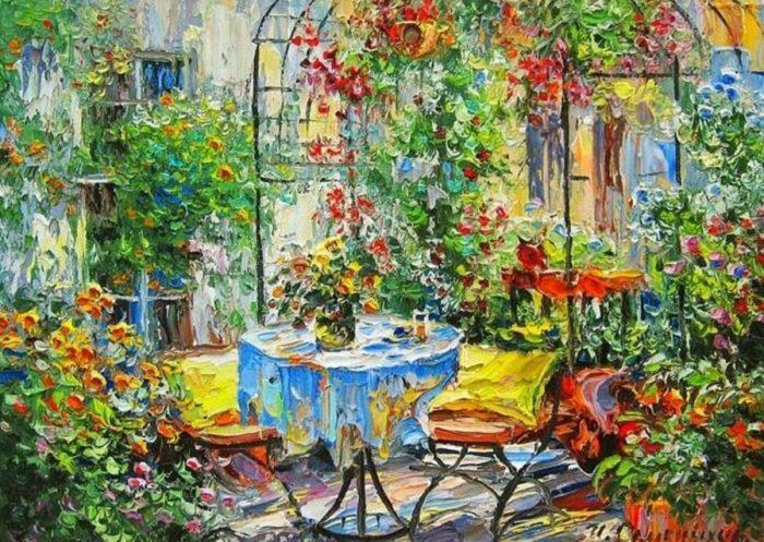 Российский художник-импрессионист Игорь Семенихин