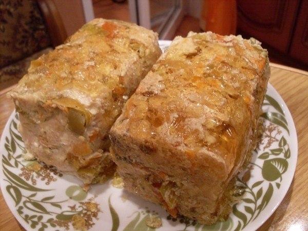 Нежная и вкусная ветчина из курицы в пакете или домашняя ветчина в желе