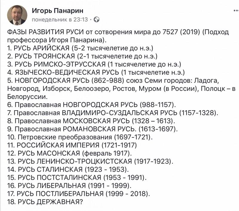 Фазы развития Руси