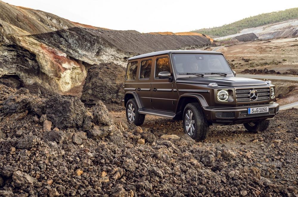 Новый «Гелик»: Mercedes обновил легендарный внедорожник