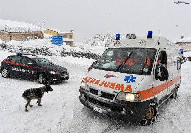 В попавшем под лавину итальянском отеле обнаружены восемь выживших
