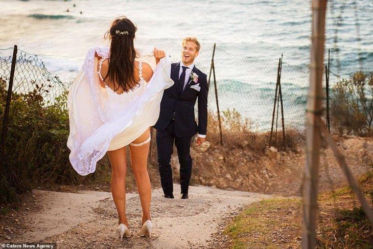 Самые смешные свадебные фото…